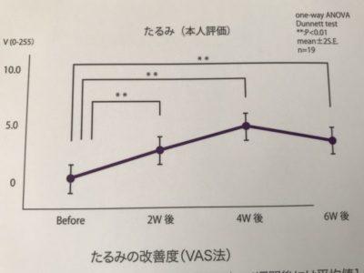 NEWAリフト たるみの変化研究論文